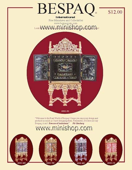 FREE Bespaq Color Dollhouse Miniature Furniture Download Catalog