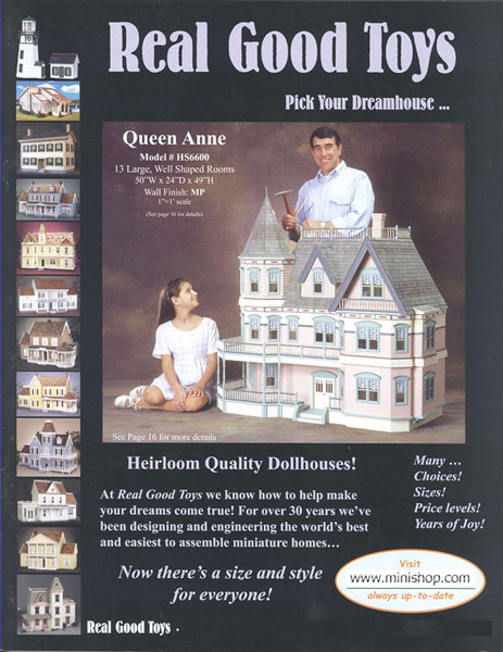 FREE Real Good Toys Pick Your Dream Dollhouse Color Catalog