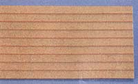 MDF Clapboard Siding 3/8 - Miniature Dollhouse