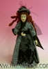 Lady Doll in Dog Tooth Check w/Feathered Hat