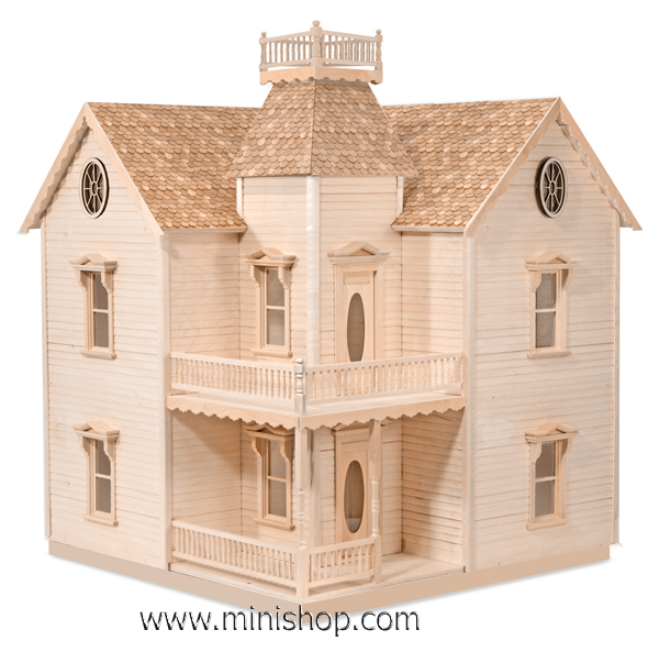 The Holly Ann Dollhouse Kit by House That Jack Built