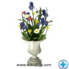 Floral Arrangement in Vase - Dollhouse Miniatures