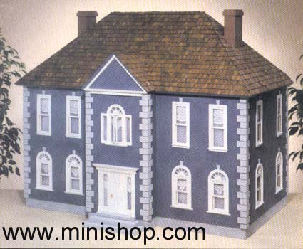 ThornHill Federal Dollhouse Shell Kit AND Components