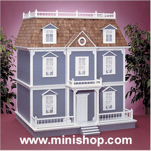 The Williamsburg Doll House kit in milled MDF, Real Good Toys
