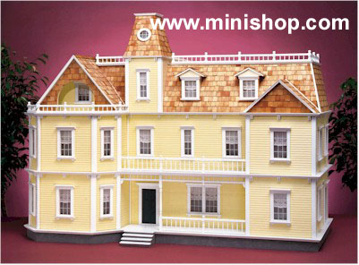 The Bostonian Doll House Kit in Milled MDF